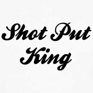 shot put king t-shirt - Men's Premium Long Sleeve T-Shirt