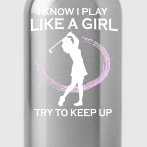Golf like a girl - Water Bottle