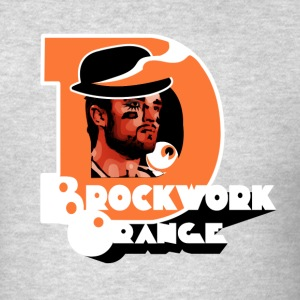 Brockwork Orange Long Sleeve Shirts - Men's T-Shirt