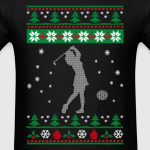 GOLF CHRISTMAS - Men's T-Shirt