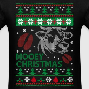Mooey Christmas - Men's T-Shirt