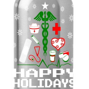 Nurse Christmas Tree Hoodies - Water Bottle