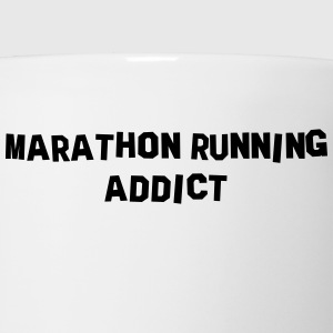 marathon running addict t-shirt - Coffee/Tea Mug