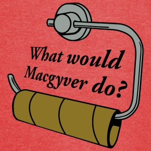 what would macgyver do Bags & backpacks - Vintage Sport T-Shirt