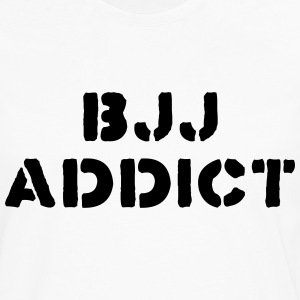 brazilian jiu jitsu bjj addict t-shirt - Men's Premium Long Sleeve T-Shirt