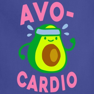 Funny Gym Shirt - AVOCARDIO  - Adjustable Apron