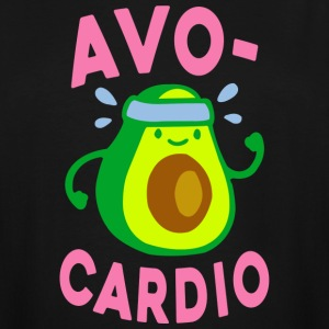 Funny Gym Shirt - AVOCARDIO  - Men's Tall T-Shirt
