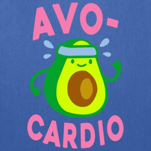 Funny Gym Shirt - AVOCARDIO  - Tote Bag