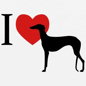 I love Galgo Baby & Toddler Shirts - Men's Premium Tank