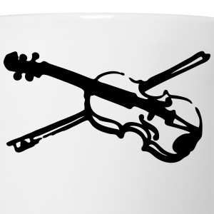 musical instrument fiddle violin t-shirt - Coffee/Tea Mug