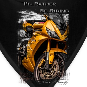 Daytona Triumph T-Shirt I'd Rather Be Riding T-Shirts - Bandana