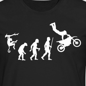 Evolution Dirt Bike - Men's Premium Long Sleeve T-Shirt