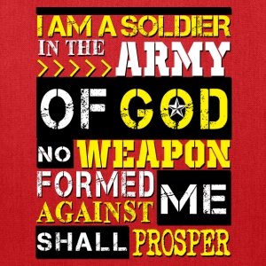 Army of God Solider Women's T-Shirts - Tote Bag