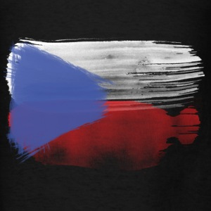 czech flag republic Hoodies - Men's T-Shirt