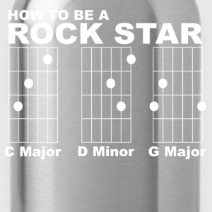How to be a rock star funny - Water Bottle