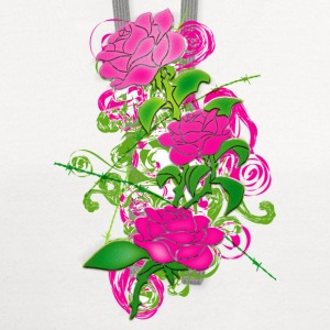 Colored_Roses - Contrast Hoodie