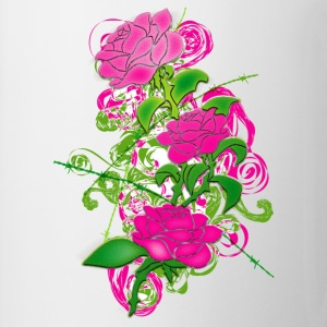 Colored_Roses - Coffee/Tea Mug
