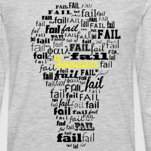 Failure leads to success - Men's Premium Long Sleeve T-Shirt