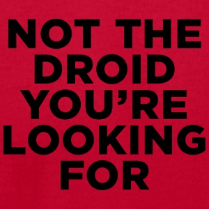 Not the Droid - Star Wars Hoodies - Men's T-Shirt by American Apparel