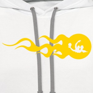 Water Polo Waterpolo Swimmer Natation Swimming Women's T-Shirts - Contrast Hoodie