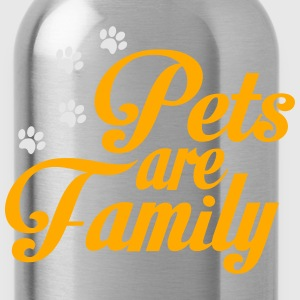 Pets Are Family Women's T-Shirts - Water Bottle