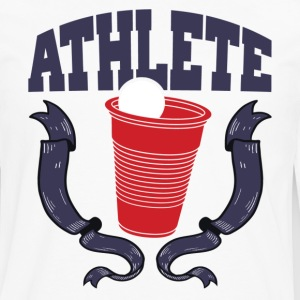Beer Pong Athlete T-Shirts - Men's Premium Long Sleeve T-Shirt