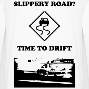 time to drift - Men's Premium Long Sleeve T-Shirt