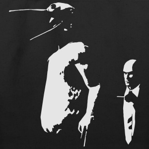 hitman vs duck - Eco-Friendly Cotton Tote