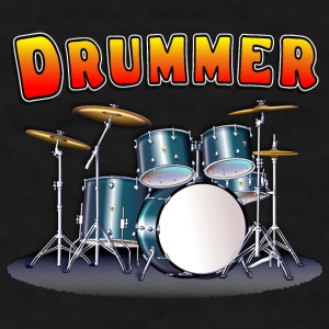 Drummer's Drum Set Mug - Men's T-Shirt