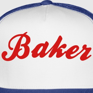 baker cool curved logo t-shirt - Trucker Cap
