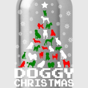 Doggy Christmas Tree T-Shirts - Water Bottle