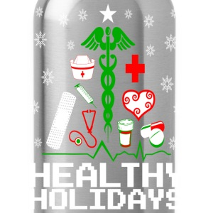 Healthy Holidays Nurse Women's T-Shirts - Water Bottle