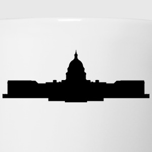 capitol building t-shirt - Coffee/Tea Mug
