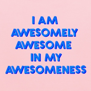 I am awesomely awesome in my awesomeness - Kids' Hoodie