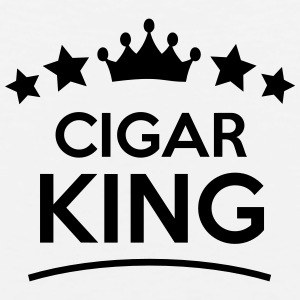 cigar king stars t-shirt - Men's Premium Tank