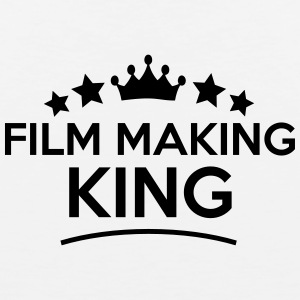 film making king stars t-shirt - Men's Premium Tank