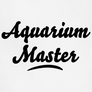 aquarium master t-shirt - Adjustable Apron
