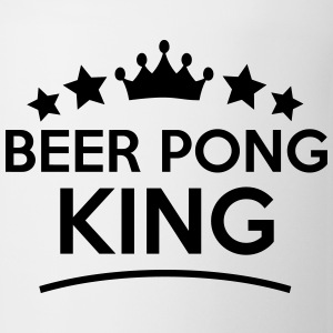 beer pong king stars t-shirt - Coffee/Tea Mug