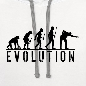 Evolution Billiards - Contrast Hoodie