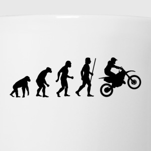 Dirt Bike Evolution T Shirt - Coffee/Tea Mug