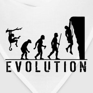 Funny Evolution Rock Climbing T Shirt - Bandana