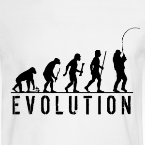 Evolution Fishing T Shirt - Men's Long Sleeve T-Shirt