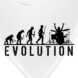 Evolution Drums T Shirt - Bandana