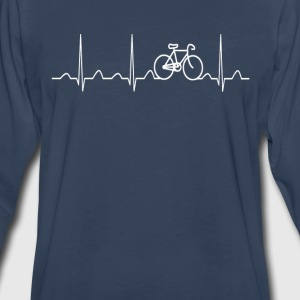 BICYCLE HEARTBEAT - Men's Premium Long Sleeve T-Shirt
