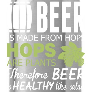 Beer Is Made From Hops Healthy Like Salad - Water Bottle
