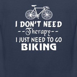GO BIKING - Men's Premium Tank