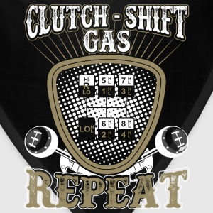 Clutch Shift Gas Repeat Gear Drive Cars - Bandana