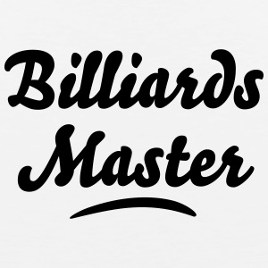 billiards master t-shirt - Men's Premium Tank