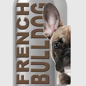 French Bulldog Bags & backpacks - Water Bottle