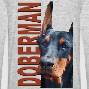 Doberman Hoodies - Men's Premium Long Sleeve T-Shirt